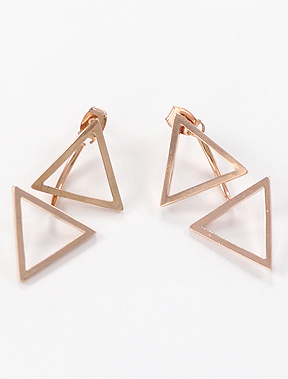 Geometry 925silver earrings