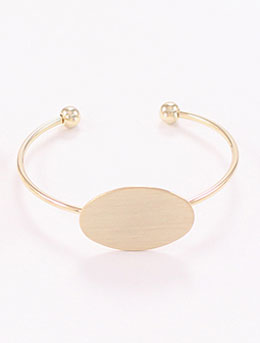 Adjustable alloy bangle