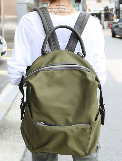 Two way water-proof backpack
