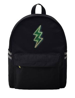 Embroidered luminous backpack