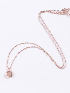 Adjustable alloy necklace